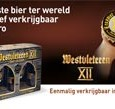 Vanaf nu kun je jouw Westvleteren 12 &#8216;Bouwsteenbox&#8217; bestellen op de website van Sligro. Maar haast je niet. Het kan tot 2 april. Als er meer dan de beschikbare 7500...