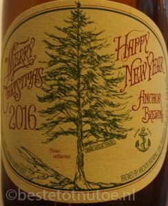 kerstbier Anchor Merry Christmas happy new year 2016
