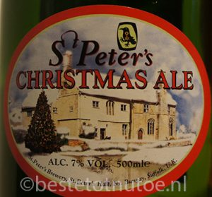 St. Peter's Christmas Ale kerstbier 2016