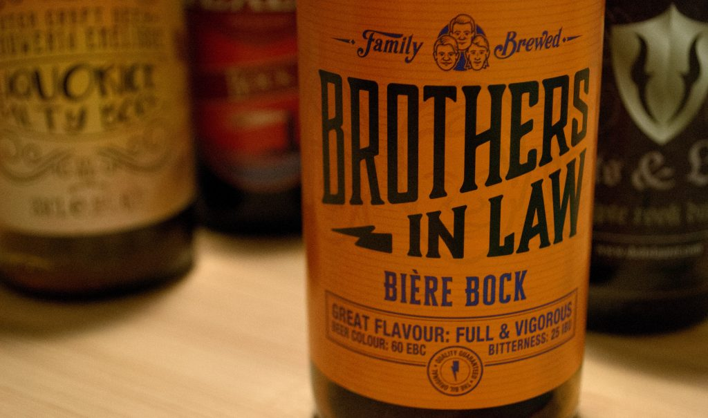 Brothers in law Biere bock 2020 bokbier bockbier test beste